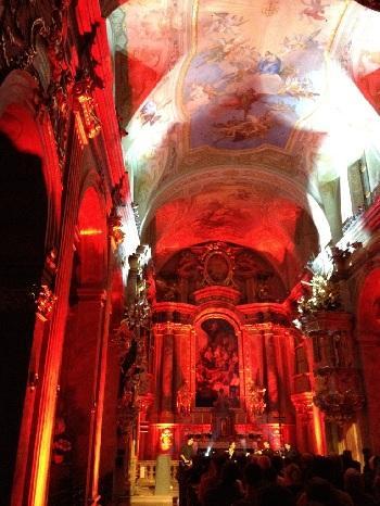WIEN/ Annakirche: KONZERT PHIL-BLECH UND QUARTETT CONFLUSIO